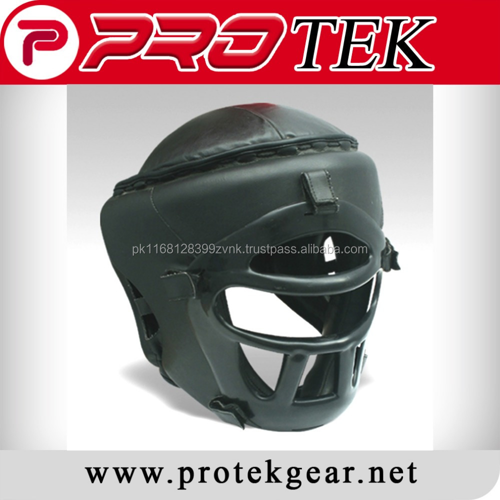 Wholesale Leather Boxing Head Guard / Head Protection / High Quality Head Gear