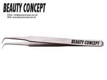 Anti-Magnetic Stainless Steel made Swiss Quality 90 Degree Tweezer for Volume Lashes