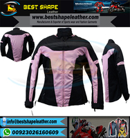 Motorcycle textile armor jacket For WoMEN
