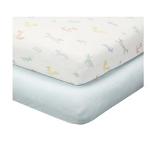 OEM Factory Direct Supply Top Quality Organic Baby Crib Sheet Set