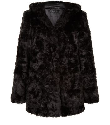 ladies long furr coat