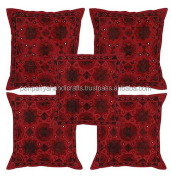 Cheap Wholesale Embroidered Cushion Covers Pillow Cover