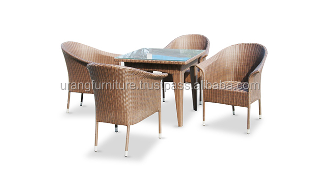 Wicker synthetic garden sets / dining sets leisure chair memble dining chair