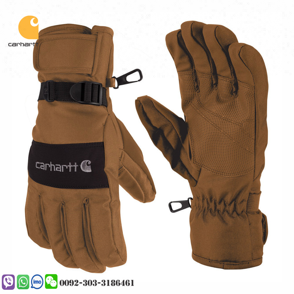 carhartt fire retardant gloves 3M reflective cowhide on palm fireman workwear safety hand protected gloves