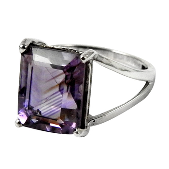 Purple amethyst gemstone ring 925 sterling silver handmade jewelry wholesale prices silver rings suppliers
