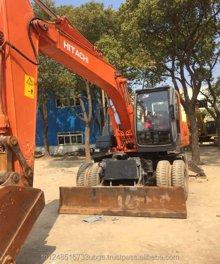 Used Hitachi ZX130 wheel excavator,second hand Hitachi wheel excavator ZX120 /ZX130 /ZX150 High quality