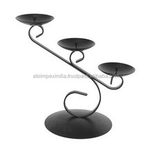 antique iron cast candle holder/cheap candle holders
