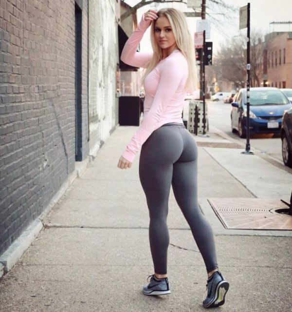 Girls Beautiful Women Tight Yoga Pants