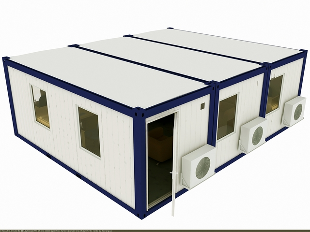 20ft linkable Prefabricated house for office ,suite bedroom,single studio in flat pack