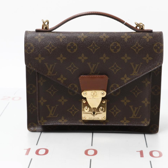 Used brand LOUIS VUITTON M51185 Monceau Monogram for bulk sale.