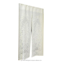 Best-selling and Premium quality white lace curtain decoration , door curtain , kitchen curtain made in Japan
