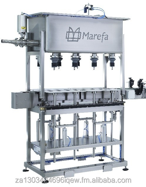 Semi-Automatic Gravity Filling Machine for Milk, Water and Juice for Glass and Plastic Bottles