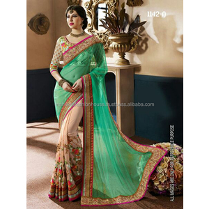 Surat Manufactured Party Wear Saree Wholesale