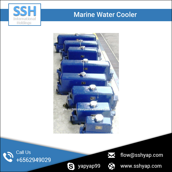 Rust Resistant Engine Water Cooler for Offshore Ship Use