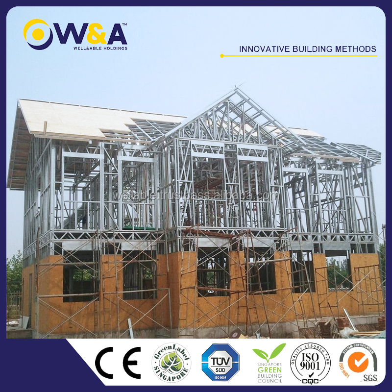 (WAS1008-46D)China Low Cost Modular and Modern Prefabricated Homes for Sale