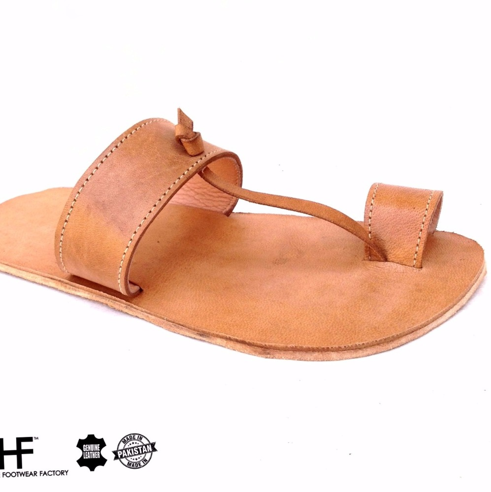 Leather Shoes high quality KOLHAPURI style chappal - men sandals - women sandals handstitched thong sandals - unbreakable shoes