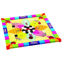 Kids wooden carromboard game