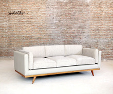 Best Seller Scandinavian 3 Seater Modern Sofa with Top Fabric Living Room Sofa