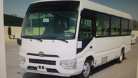 Toyota Coaster bus 4.2L Diesel New shape 2017 Model for export sale