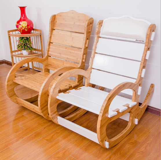 Bamboo rocking chair/ bamboo chair