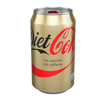 Diet Coke Caffeine Free Cans 330ml