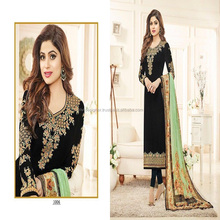 BLACK BEAUTY STRAIGHT CUT SALWAR KAMEEZ