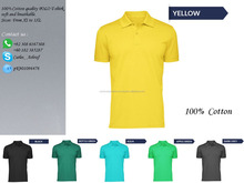 mens uniform new design fine pima cotton golf polo t shirt