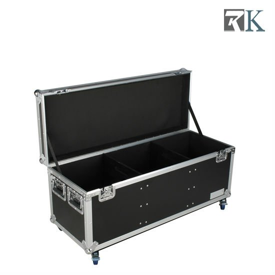 Music Loading Flight cases used for Storage