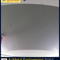 Aluminum Strip Ceiling 100 Mm Module