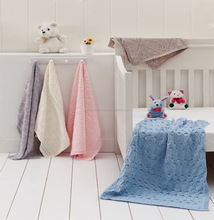 Knitted Tricot Baby Blankets