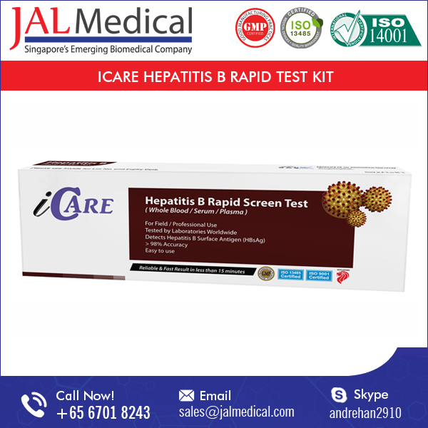 Devices Medical CE Approval Rapid Diagnostic Hepatitis B Test Kit
