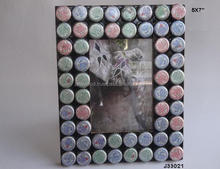 Soft drink bottle cover mosaic Photo frame Available in all Photo Sizes