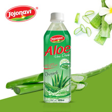 Aloe vera products export Aloe vera drink with passion flavour in PET Bottle 500ml JOJONAVI beverage brands