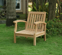 luxcury teak garden lounge chair high quality ottoman outdoor furniture with competitive price buy wholesale