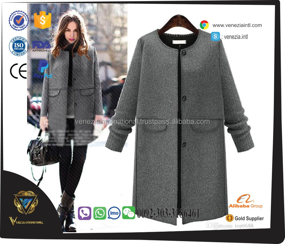 2017 clothes women ladies cool wool winter hunting jacket coat