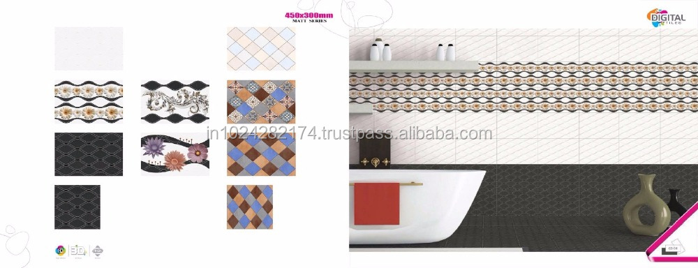 Italy design 3d picture wall tile price, ceramic wall tile, glazed interior wall tile O-62