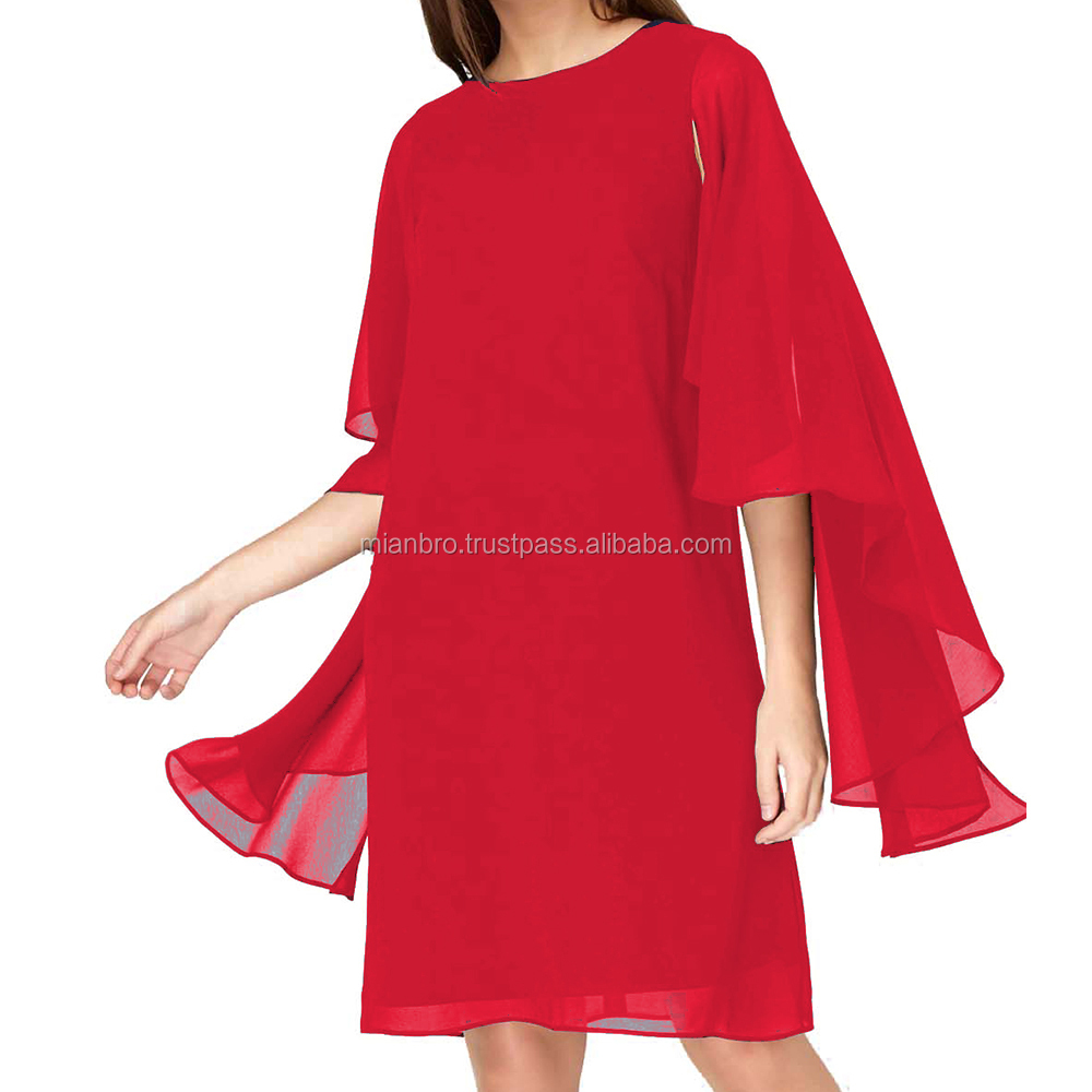 Custom beautiful & elegant but simple Party Dress for Girls, Mesh Ladies Clothing, Personal Women Tailoring Service possible