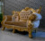 Wooden Heavy Carved Furniture Royal Sofa Set Classic Style