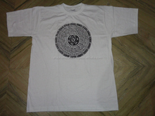 summer t-shirts hindu gods rubber printed t-shirts wholesale prices