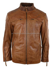 Top quality paragon manufacture leather jacket, pakistani customized men leather jacket, casual men leather jacket