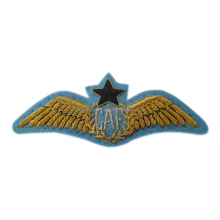 Us navy flight jacket uniform embroidery wire bullion blazer combat aircrew wing badge