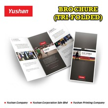 High Quality Tri-Folded Flyer/Brochure/Catalog Printing at Low Price