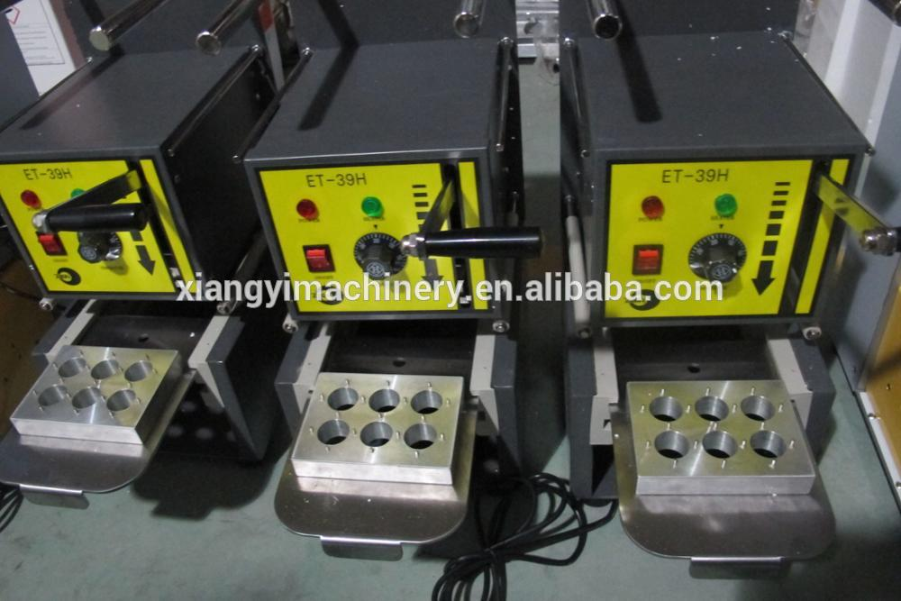 shanghai factory Lavazza Blue Semi-auto coffee capsule sealing filling machine