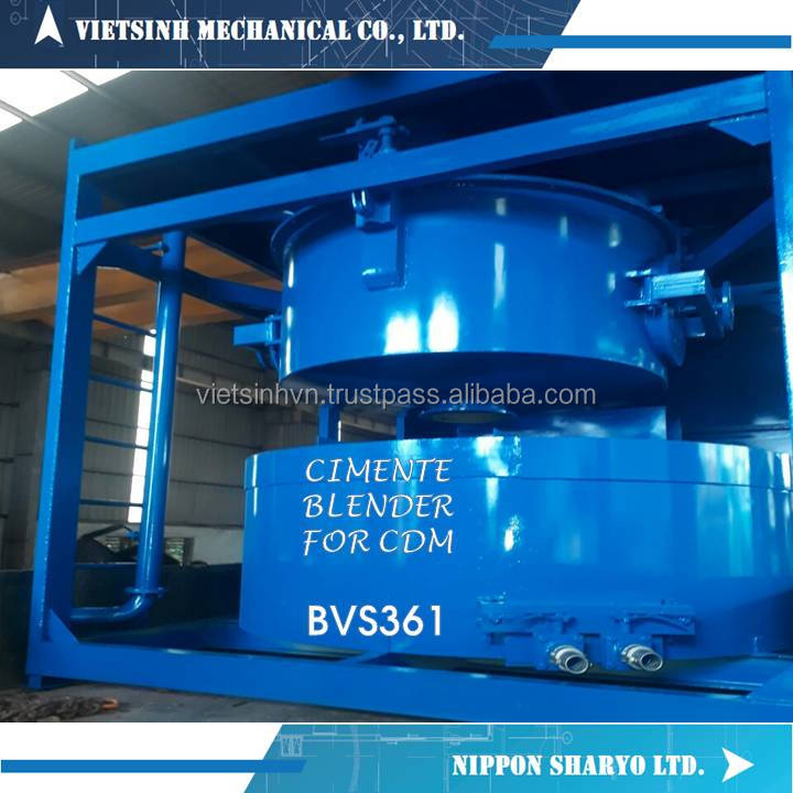 VIET SINH HIGH QUALITY CDM ELECTRIC OPERATION CEMENT MIXER