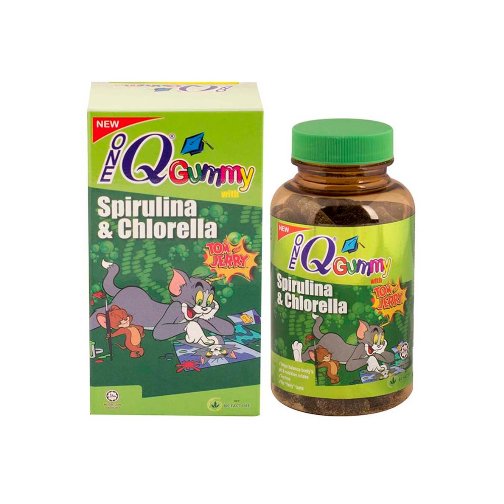 1Q Gummy with Spirulina & Chlorella