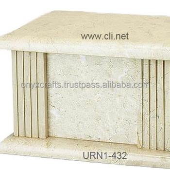 Boticina Marble rectangle Urn in Wholesale Cheap Price