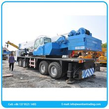 Manufacture low fuel consumption used tadano 90 ton truck crane