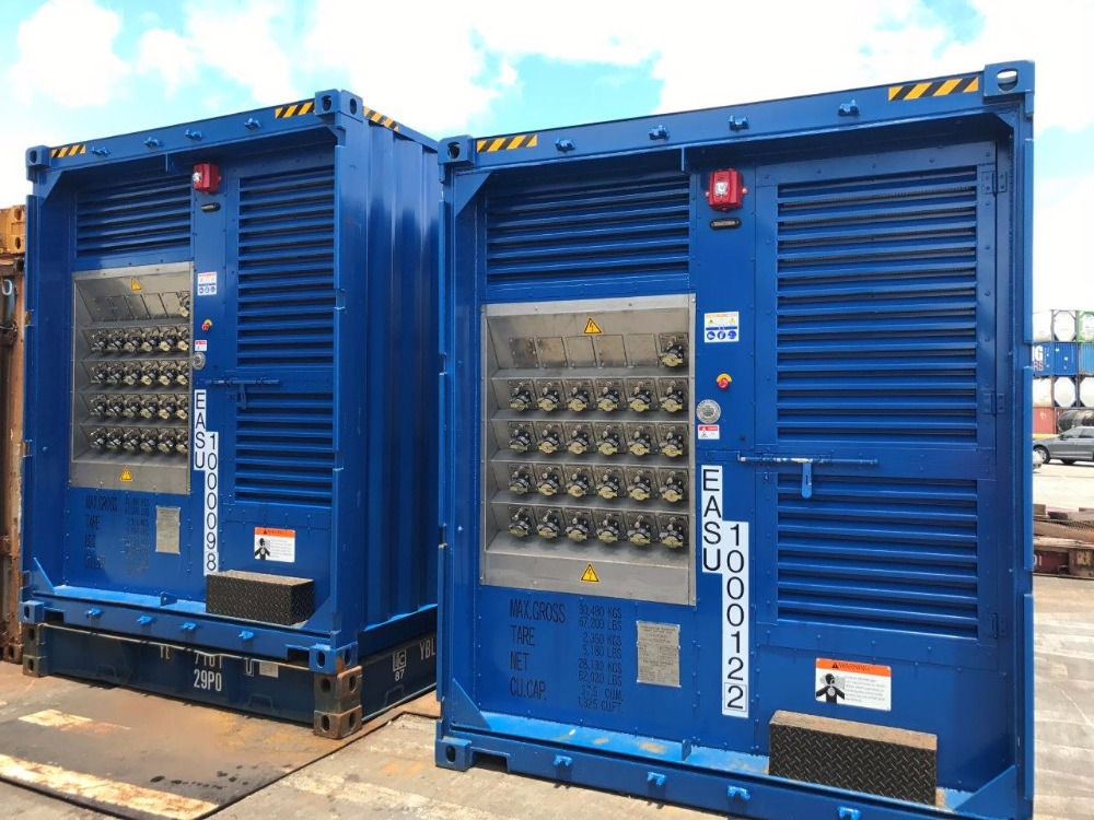 Re-manufactured 20ft HC Containerized Power-Pack Generators - 25 ESL Plugs and New Container