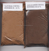 COCOA POWDER/Natural Alkalized Cocoa Powder 10-12% forsale at a low rate