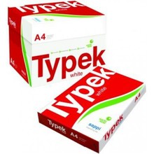 Best Quality Typek A4 Copy Paper 80gsm, 75gsm, 70gsm